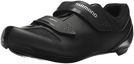 SHIMANO SH-RP1 High Performing All-Rounder Cycling Shoe, Black, Size: Unisex EU 45 | Womens US 12-12.5 | Mens US 10.5-11