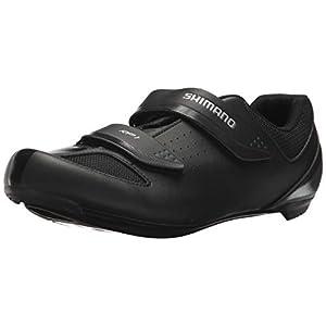 SHIMANO SH-RP1 High Performing All-Rounder Cycling Shoe, Black, Size: Unisex EU 47 | Mens US 11.5-12 | Womens US 14-14.5
