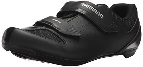SHIMANO SH-RP1 High Performing All-Rounder Cycling Shoe, Black, Size: Unisex EU 44 | Mens US 9.5-10 | Womens US 11-11.5