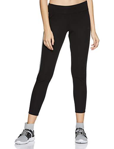 adidas Run It Tgt W Leggings Sportivi., Donna, Black/White., M