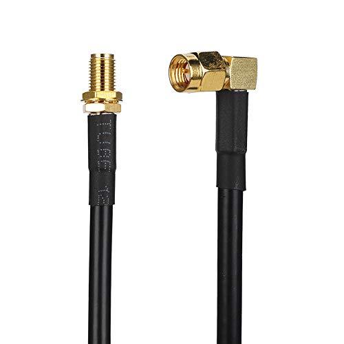 Socobeta Antena Resistente al Usura Cable de Extensión Cable Adaptador para Antena Walkie-Talkie coaxial Fácil de instalar para Radio bidireccional