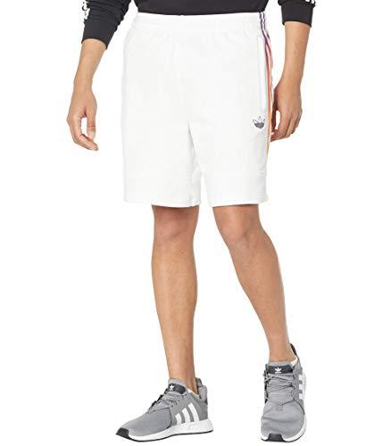 adidas Originals Pantalones cortos deportivos para hombre - blanco - X-Large