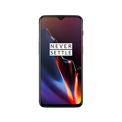OnePlus 6T - Smartphone 6GB+128GB, Color Negro (Mirror Black)
