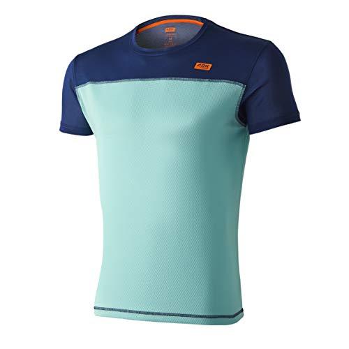42K Running - Camiseta técnica 42K SYRUSS Hombre Aruba XL