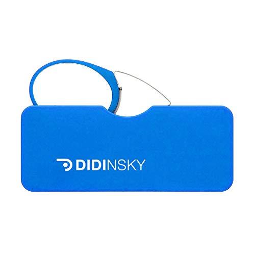 DIDINSKY Gafas de lectura sin patillas graduadas para hombre y mujer transparentes. Gafas de presbicia para hombre y mujer retro o vintage para vista cansada. Klein +3.0 – ORSAY