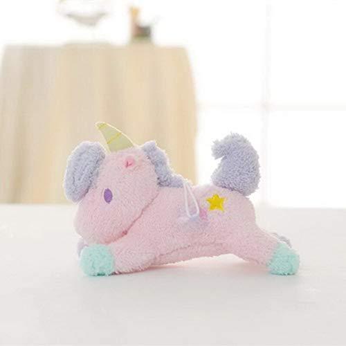 N / A Kawaii Coloridos Juguetes de Peluche muñeco de Peluche Suave Animal acostado y de pie Encantador Juguete para niños Lindo Regalo 23cm