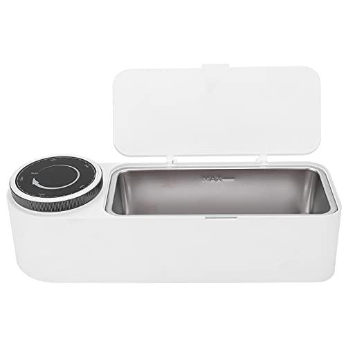 Draagbare Professionele Ultrasone Reiniger 650 Ml Digitale Sieradenreiniger 360 ° Ultrasone Zelfbruiner Reinigingsmachine voor Brillen, Sieraden, Horloges, Kunstgebitten(EU)