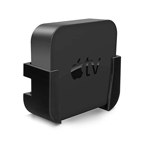 Brainwavz Apple TV Mount with VHB Tape - Compatible with All Apple TVs Including Apple TV 4K, No...
