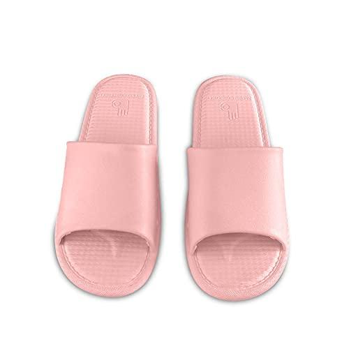 MLLM Sandalias de EVA impermeables, zapatillas de pareja ultra suaves; hotel anti-arena-D_40, suela suave de los deslizadores de la casa