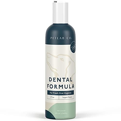 Petlab Co. Dental Wash | Dog Mouthwash & Teeth Cleaner | Dental Water Solution, Targets Plaque & Tartar | Maintains Clean Teeth & Supports Gum Health & Fresh Breath (1-Pack)