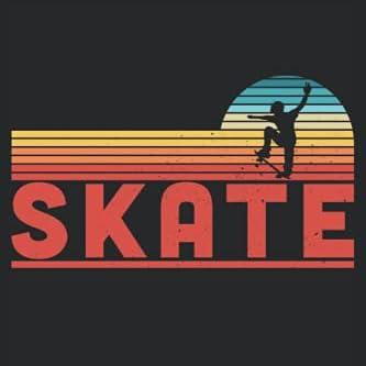 Skate Skater Boys Gift Skateboard Fan: 6x9 Notes, Diary, Journal 110 Page