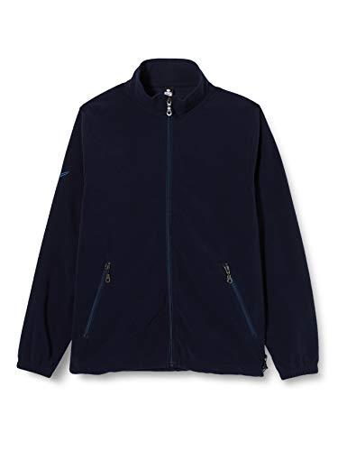 Trigema Damen Jacke 555104, Gr. 48 (Herstellergröße: XL), Blau (blau 046)
