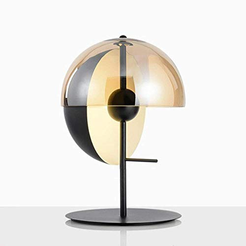 LED Personalidad Simple Creativo Semi-circular Pantalla de Cristal Moderno Diseñador Modelo Habitación...