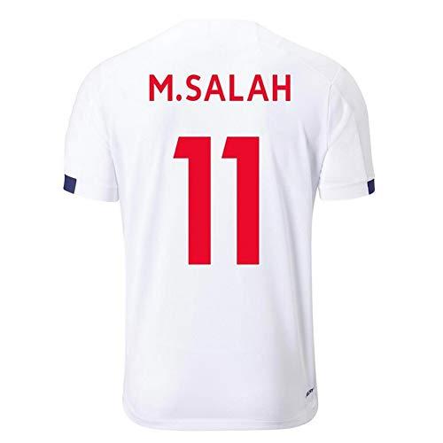 GEXING Mohamed Salah # 11 Fußball-Jersey -Adult Kinder Fußballfan Sportkleidungklage (Color : D, Size : XL)