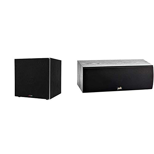 """Polk Audio PSW10 10"""" Powered Subwoofer - Power Port Technology 