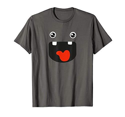 Disfraz de monstruo grun de Halloween gritando Camiseta