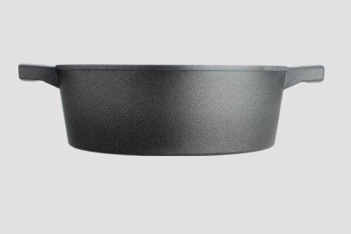 Woll Kasserolle, Gusseisen, schwarz, 28 cm