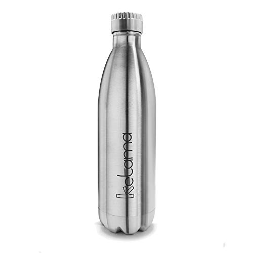 Isolierflasche 0,75 L Thermos Light /& Compact gris en acier inoxydable thermos