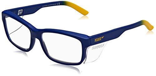 PEGASO 125.020 - Gafas contra impactó con lentes pre graduadas, Azul y Amarillo, +2.0, l