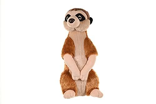 Wild Republic Meerkat Plush, Stuffed Animal, Plush Toy, Kids Gifts, Cuddlekins, 12 Inches,Multi