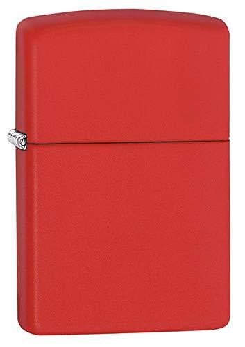 Zippo Zippo Classic Feuerzeug, Red Matte, 5, 5cm Red Matte