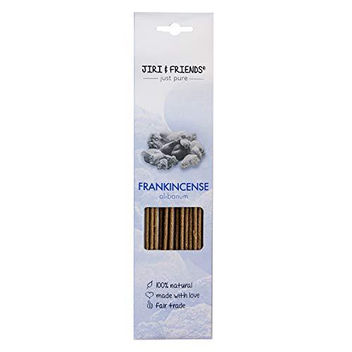 Räucherstäbchen Frankincense (Olibanum) zum räuchern Jiri and Friends 100% Natürlich 15 Stuck natural incense Fair Trade Räucherwerk