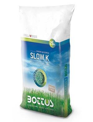 Abono fertilizante para césped Bottos Slow 12-6-18-K 2,5 mg 25 Kg