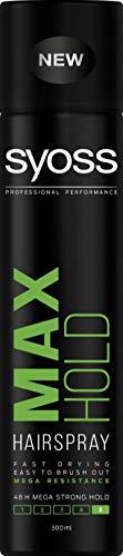 Syoss Max Hold Haarspray Spray Haarspray Mega Strong 300ml