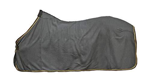 HKM Abschwitzdecke, schwarz/Gold, 155