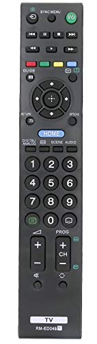 ALLIMITY RM-ED049 Control Remoto reemplazado por Sony Bravia TV KDL-32BX340 KDL-40BX440 KDL-42EX440 KDL-32EX340 KDL-42EX443