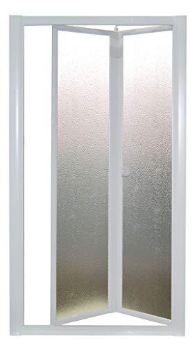Modenplast Nischendusche Domino 83-90 cm; Duschkabine; Duschabtrennung; Dusche; Schiebetür Duschtür