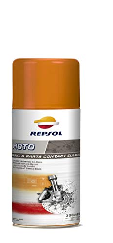 Repsol RP716A98 Brake&Parts Contact Cleaner Desengrasante Moto, 300 ml