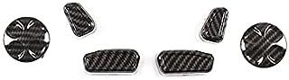 3Color Car Seat Side Adjustment Button Cover Trim Parts/Fit For Mas.erati Quattroporte Ghibli Levante 2013-2017 Car Access...