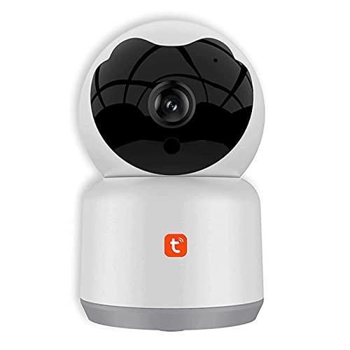 HLSH Tuya Smart WiFi Wireless Ip-Kamera, 1080p Nachtsicht-Home-Zwei-Wege-Audio-automatische Tracking CCTV-sicherheitsüberwachung Baby-Monitor(Size:Camera+16G)