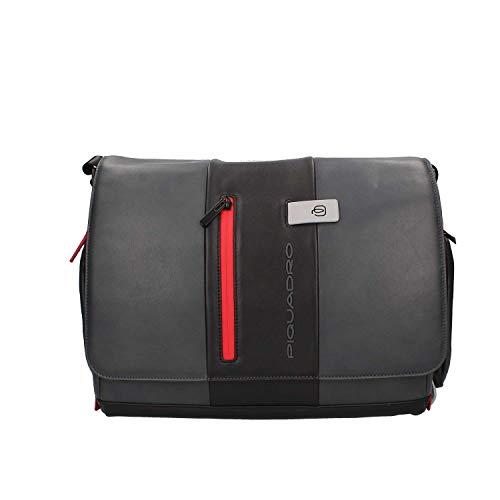 Piquadro Urban Messenger Leder 36 cm Laptopfach