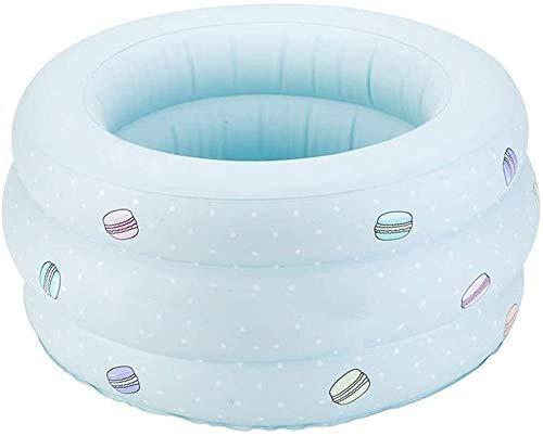 Zomer draagbare opblaasbare kleine huis zwembad, draagbare babybadkuip, baby dikke opvouwbare douchebak, kinderen opblaasbaar zwembadbad, baden voor kinderen buiten