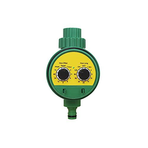 Timer Automatico Per Acqua Impermeabile in Abs 3v Aaa Timer Per Irrigazione Regolabile Irrigatore Comodo Timer Da Giardino Per Piantagioni Agricole