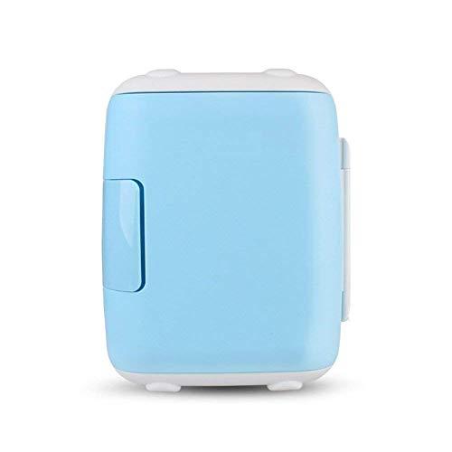 Mini refrigerador pequeño, refrigerador de 5L para refrigerador de coches y hogar dormitorio de doble uso en el hogar Mini pequeño compacto-refrigerador-verde 27x27x28cm (11x11x11 pulgadas) peng
