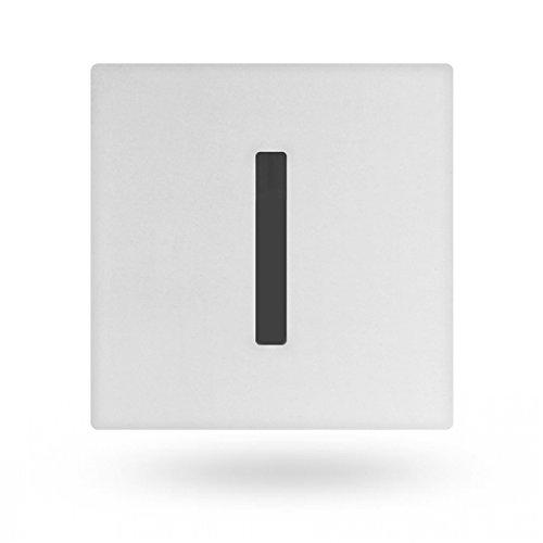 thermomat ruel08eb grifo electrónico para urinario de pared con alimentación a batería