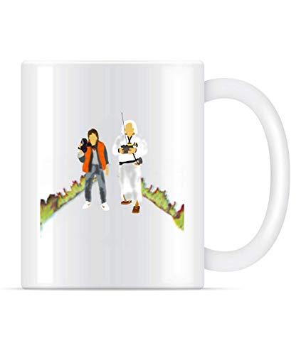 N\A Taza de café Regreso al Futuro para Mujeres y Hombres Tazas de té