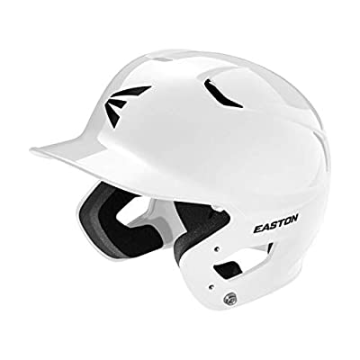 Easton Z5 2.0 Baseball Batting Helmet Solid Color Series, Dual-Density Impact Absorption Foam, High Impact Resistant ABS Shell, Moisture Wicking BioDRI Liner, JAW Guard Compatible