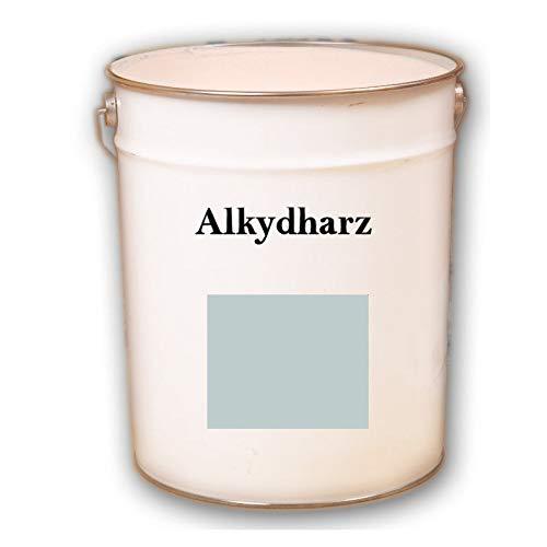 Hauptversand24 2,5 kg RAL 9010 reinweiss weiß Alkydharz matt Dachbeschichtung Dachfarbe Ziegelfarbe
