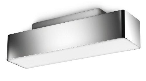 Philips myLiving Peace Energiespar- Deckenleuchte mit 11W, inklusive Leuchtmittel, 1-flammig, Chrom, 304231116