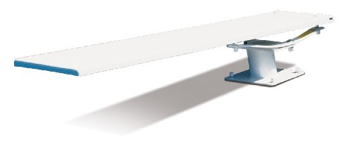 S.R. Smith 68-209-2082 608 Cantilever Jump Stand 8-Foot Glas-Hide Diving Board, White