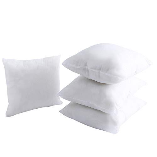 LLKK Núcleo de Almohada Suave no Tejido,Núcleo de Almohada de Color sólido,Almohada elástica de Lujo de algodón PP,2 Piezas
