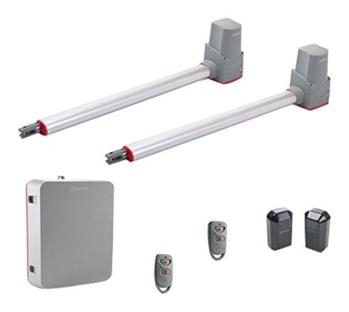 Erreka TEMIS2 Kit Completo de Motores para Puertas Batientes Residenciales de hasta 2.2 m