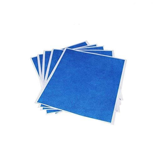 5 PCS/Los 3D-Drucker Blau Hochtemperaturband 5 Blatt 200 mm 210 mm 3D-Druckzubehör