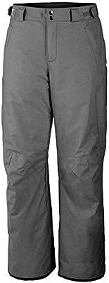 Columbia Arctic Trip Men's Omni Heat Snow Ski Pants (Grey/White, M/REG)