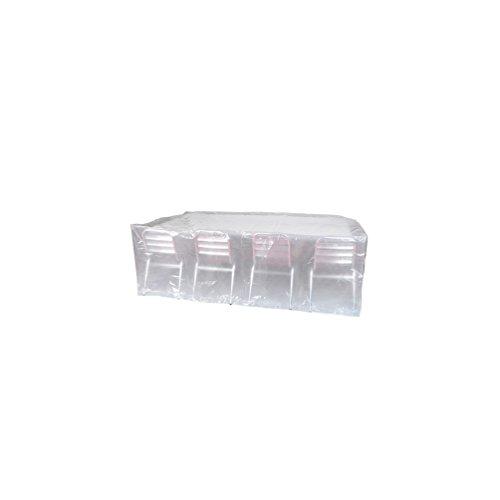 Ribiland - Housse ECO platinium 90 gr/m2 250 x 150 x Ht. 80 cm pour table rectangulaire et chaises - PRH090250X150 - Ribiland