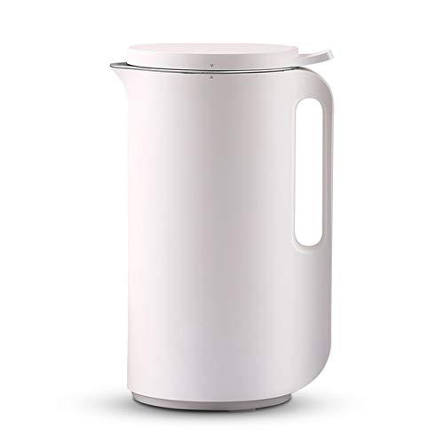 BMMMZ Multifunktions-Soymilk Maschine Mini Juicer automatische Heizung Soja-Milch Entsafter Stir Reispaste Maker Filter frei 350ml (Color : White)
